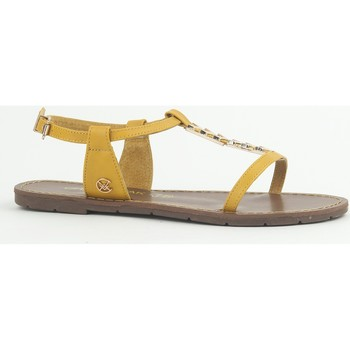 Shoes Women Sandals Chattawak Sandale 9-PETUNIA Jaune Yellow