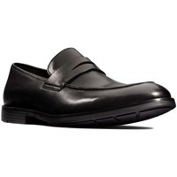 Shoes Men Loafers Clarks Ronnie Step Mens Loafers black