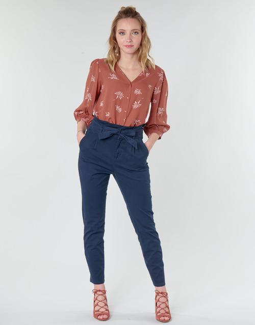Clothing Women 5-pocket trousers Vero Moda VMEVA Marine