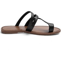 Shoes Women Sandals Chattawak Tong 9-TEXANE Noir Black