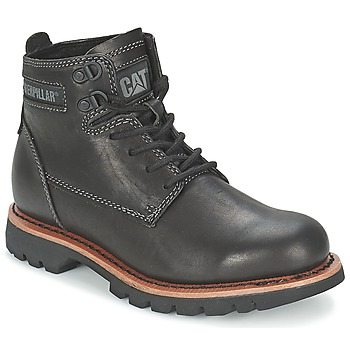 Shoes Men Mid boots Caterpillar ROCKWELL Black