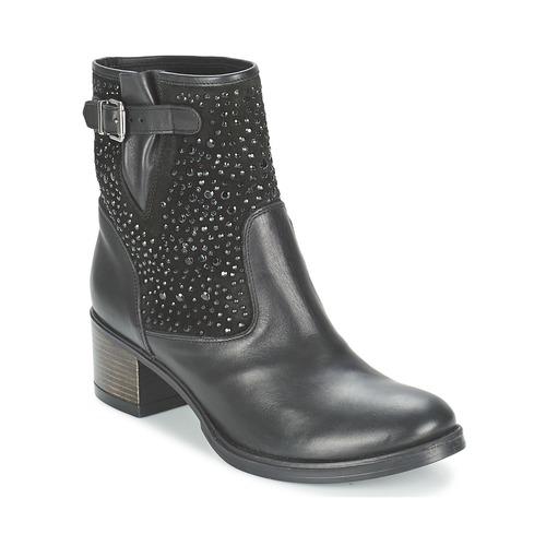 Shoes Women Ankle boots Meline NERCRO Black