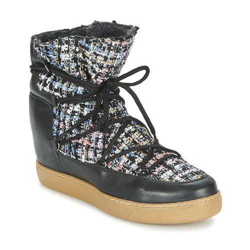 Shoes Women Mid boots Meline DERNA Black