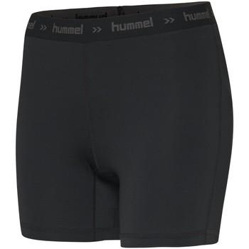 Clothing Women Shorts / Bermudas Hummel Short femme  Perofmance Hipster noir