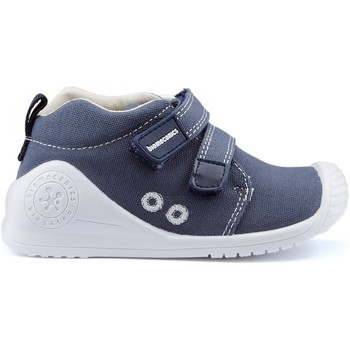 Shoes Children Low top trainers Biomecanics CANVAS CANVAS shoes BLUE