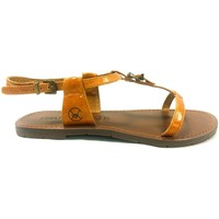 Shoes Women Sandals Chattawak Sandale 9-ZHOE Jaune Yellow