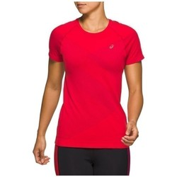 Clothing Women Short-sleeved t-shirts Asics Tokyo Seamless Red