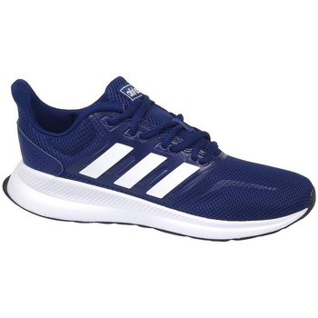Shoes Boy Running shoes adidas Originals Run Falcon K Navy blue