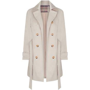 Clothing Women Coats Anastasia Beige Womens Trench Coat BEIGE
