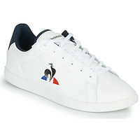 Shoes Children Low top trainers Le Coq Sportif COURTSET JUNIOR White / Blue