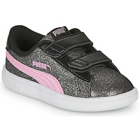 Shoes Girl Low top trainers Puma SMASH Grey