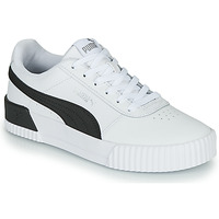 Shoes Women Low top trainers Puma CARINA White / Black