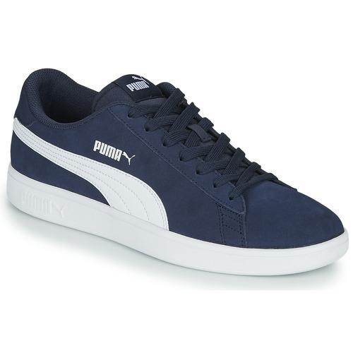 Shoes Men Low top trainers Puma SMASH Marine