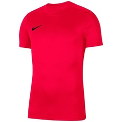 Clothing Boy short-sleeved t-shirts Nike JR Dry Park Vii Red
