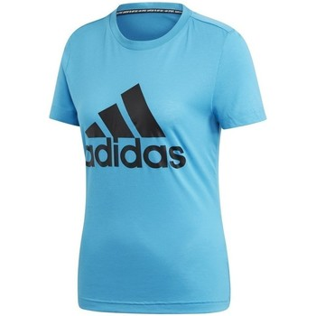 Clothing Women Short-sleeved t-shirts adidas Originals Must Haves Bos Tee Light blue