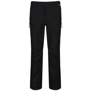 Clothing Men Trousers Regatta Dayhike III Waterproof Hiking Trousers Black Black