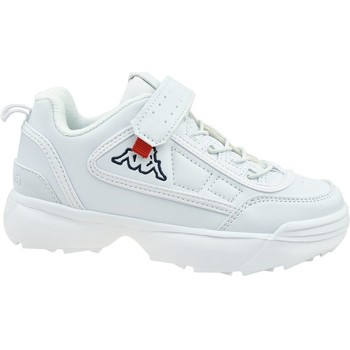 Shoes Children Low top trainers Kappa Rave NC K White