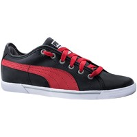 Shoes Women Low top trainers Puma Benecio Black