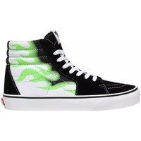 Shoes Hi top trainers Vans SK8HI Flame White, Black, Green