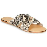 Shoes Women Mules Jonak JASMINE Brown / Python