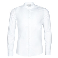 Clothing Men Long-sleeved shirts Casual Attitude MASS White