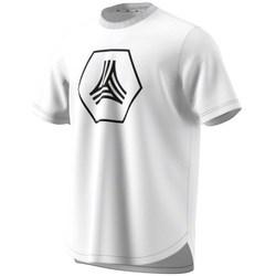 Clothing Men Short-sleeved t-shirts adidas Originals Tango Big Logo Tee White