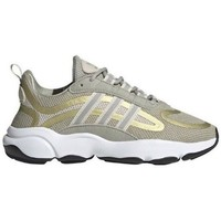 Shoes Children Low top trainers adidas Originals Haiwee J Green,Yellow