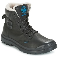 Shoes Men Mid boots Palladium PAMPA SPORT WPS Black