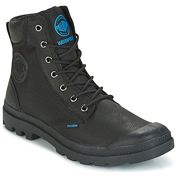 Shoes Men Mid boots Palladium SPOR CUF WPN Black