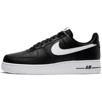Shoes Men Low top trainers Nike Air Force 107 AN20 Black