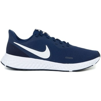 Shoes Men Low top trainers Nike Revolution 5 Navy blue