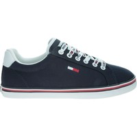 Shoes Women Low top trainers Tommy Hilfiger Essential Lace UP Navy blue