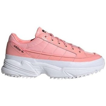 Shoes Women Low top trainers adidas Originals Kiellor W Pink