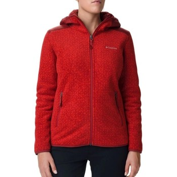 Clothing Women Fleeces Columbia Winter Pass Red