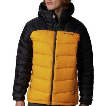 Clothing Men Duffel coats Columbia Centennial Creek Black, Yellow