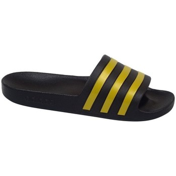 Shoes Men Tap-dancing adidas Originals Adilette Aqua Black