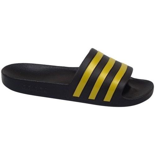 Shoes Men Tap-dancing adidas Originals Adilette Aqua Black