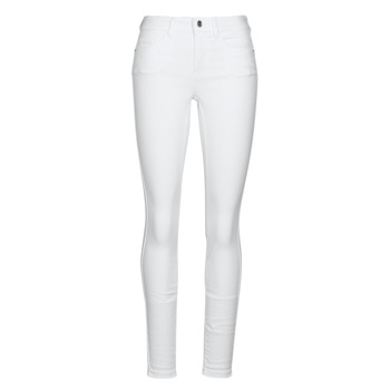 Clothing Women slim jeans Vero Moda VMSEVEN White