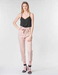 Clothing Women 5-pocket trousers Betty London MOUDI Pink