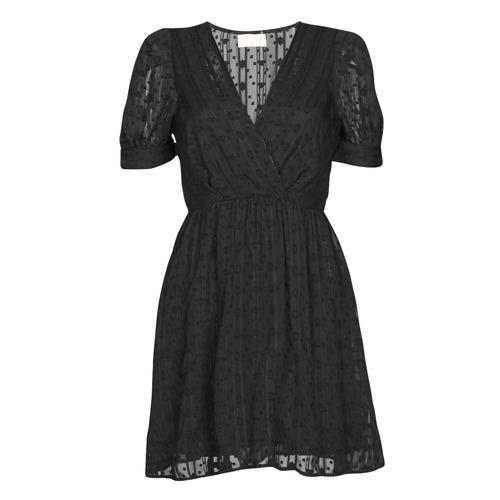 Clothing Women Short Dresses Moony Mood ACTINE Black