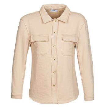 Clothing Women Jackets / Blazers Betty London MOUCHE Beige