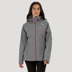 Clothing Women sweaters Regatta Birchdale Waterproof Jacket Grey Grey