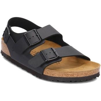 Shoes Men Sandals Birkenstock Milano Graphite,Brown