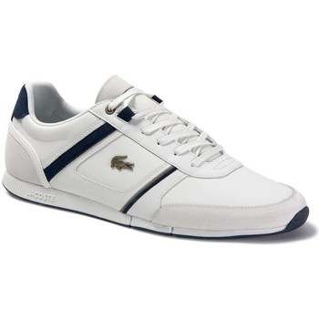Shoes Men Low top trainers Lacoste Menerva 120 1 Cma White
