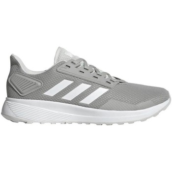 Shoes Men Low top trainers adidas Originals Duramo 9 White,Grey
