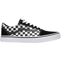 Shoes Children Low top trainers Vans Ward Black