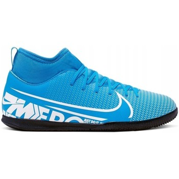Shoes Men Football shoes Nike JR Superfly 7 Club IC Blue