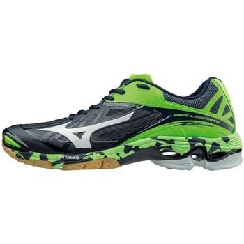 Shoes Men Multisport shoes Mizuno Wave Lightning Z2 Green,Navy blue