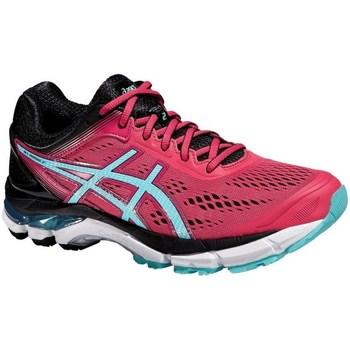 Shoes Women Running shoes Asics Gelpursue 2 Black, Light blue, Pink