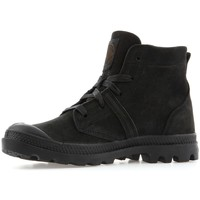 Shoes Women Mid boots Palladium Pallabrouse Cml Black